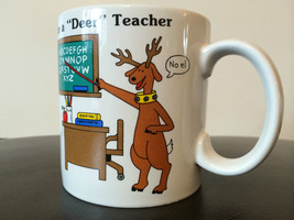 "Russ Berrie and Company Inc Season greeting to  a ""Deer"" Teacher.  - $15.19"