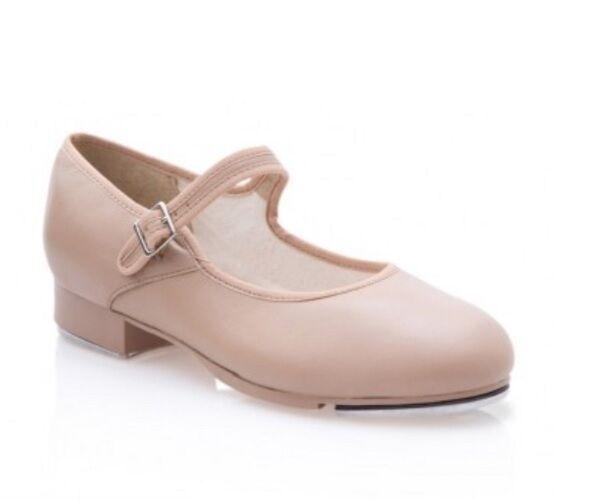 "Capezio 3800C Caramel Child 13.5M (Fits Child 12.5) ""Mary Jane"" Buckle Tap Shoe"