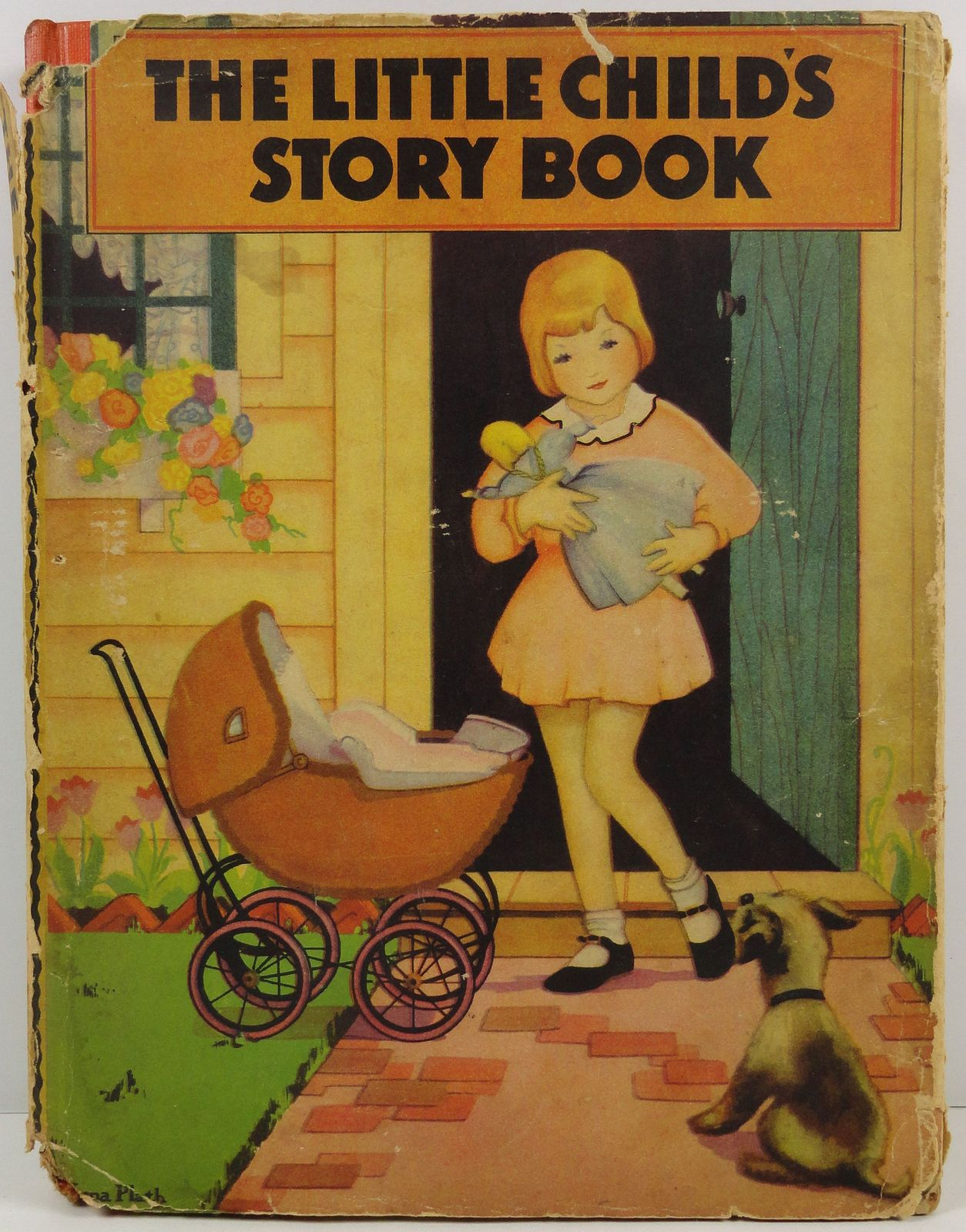 Primary image for The Little Child's Story Book 1935 The Saalfield Company HC/DJ