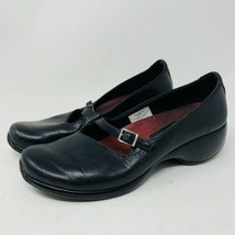 Merrell Spire Emme Black Leather Mary Janes Size 7.5 Comfort Air Cushion - $12.13