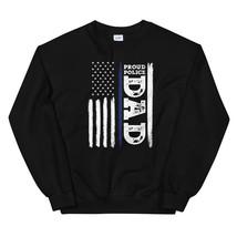 I Back The Blue Proud Police Dad Thin Blue Line Unisex Sweatshirt - $29.99+