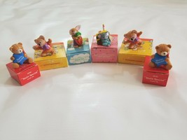 VINTAGE AVON LOT OF 6 CANDLE POMETTE  FROM 1980'S NEW IN BOX - $29.70