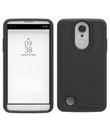 N drop protection hybrid case cover for lg fortune v1 k4 2017 black p20170310063937850 thumbtall