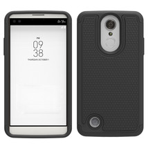 On drop protection hybrid case cover for lg fortune v1 k4 2017 black p20170310063937850 thumb200