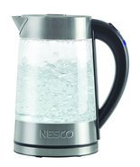 Nesco GWK-02 Electric Glass Water Kettle, 1.8 Q... - $58.79