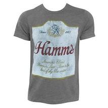 Hamm's Hugger Label Heather TShirt Grey - $29.98