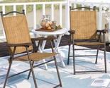 Folding slingback chairs patio thumb155 crop