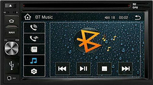 DVD CD GPS Navigation Multimedia Radio and Dash Kit for Honda Element 2003 image 6