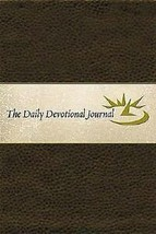 The Daily Devotional Journal by Thomas Nelson Bibles - $12.38