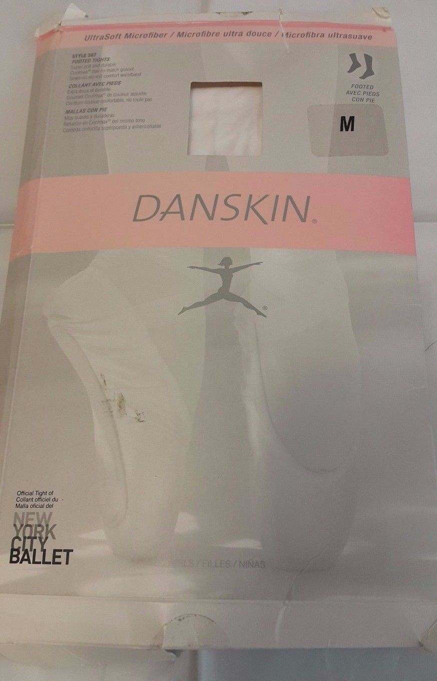 553d1822ae1ac Danskin Girl's Microfiber Footed Tights Size and 50 similar items. S l1600