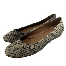 Lucky Brand Bonitah Snake Print Flats Round Toe Slip On Womens Size 8.5 - $26.70