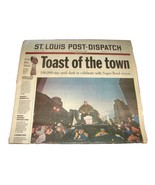 2000 Feb 1 St. Louis Post Dispatch Newspaper NFL Rams Super Bowl Victory... - $13.99