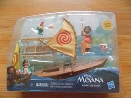 Disney Moana Adventure Canoe Floats Mini Doll Figure Hei Hei Rooster Pua... - $32.00