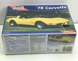 1978 Chevrolet Corvette / Yellow / 1:24 Scale Model / Revell Monogram 85-2520 - $56.59