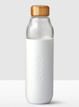 Starbucks Soma Glass Water Bottle/White/17 fl oz/Bamboo Lid - $34.60