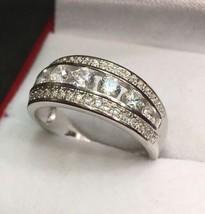 Royal Dazzy Exclusive Round Swarovski Crystal Handset Wedding ring Band ... - $32.71