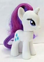 My Little Pony Rarity Unicorn Friendship Magic Diamonds White Blue Purple 2010 - $14.84