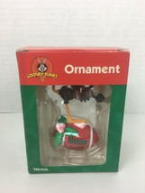 Looney Tunes Christmas Ornament Daffy Duck Football Trevco 1999 - $9.99