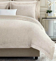 Sferra Amiata F/Queen Duvet Cover Italian Cotton Sateen Jacquard New - $549.00