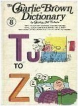 Tu to Z (The Charlie Brown Dictionary, Volume 8) [Hardcover] The World Publishin - $3.99