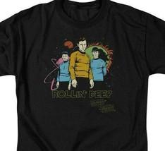 Star Trek t-shirt Rollin Deep animated sci-fi TV series graphic tee CBS955 image 2