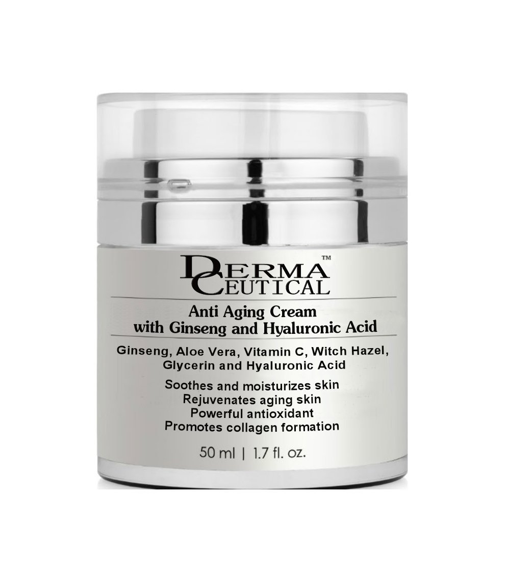 Primary image for Anti Aging CREAM with Ginseng and Hyaluronic Acid – DermaCeutical