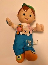 Fisher Price Inc See and Say Buddy Doll talking counting singing 2007 Ma... - $10.35