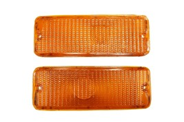 73 74 75 76 77 FORD F-150 F150 F250 F350 Truck Front Turn Signal Lights Amber