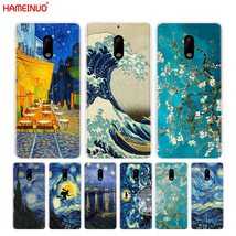 HAMEINUO Vincent Van Gogh Starry night wave Oil cover phone case for Nokia 9 8 7 - $12.93