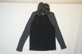 Gap Thermal Hoodie, Black & Gray, Unused Condition, Men's Small 9774 - $17.81