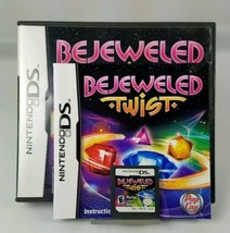 Bejeweled Twist Nintendo DS Puzzle Game 2DS 3DS XL Lite Complete Case + Manual - $6.43