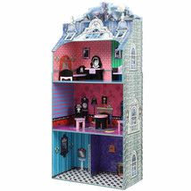 Orig. $210: Monster Mansion 3-Story Doll House with Furniture - 4ft 3in ... - $80.94