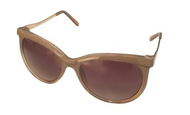 Kenneth Cole Reaction Mens Soft Square Brown Crystal Sunglass KC1292 57F - $17.99