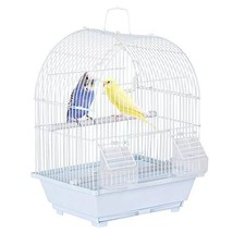 Yaheetech 15.4''H Dome Top Style Economy Small Bird Cage for Parakeet Bu... - $32.78