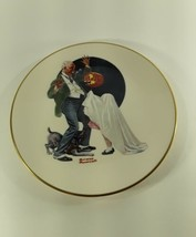 Norman Rockwell Trick Or Treat Gorham China Collector Plate 1981 - $5.00