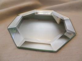 Beveled Octagon Mirror -- 4 inch    Coaster / Jewelry Display - $5.94