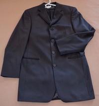 Three Piece Black Tuxedo Homecoming Wedding Prom Fubu The Collection SZ ... - $50.96