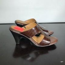 NEW Eurosoft By Sofft Women Sz 8 M, Varina Brown Sandals Strappy Heels. $79- - $23.76