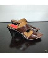 NEW Eurosoft By Sofft Women Sz 8 M, Varina Brown Sandals Strappy Heels. ... - $23.76