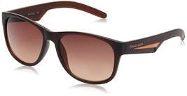 Fastrack UV Protected Wayfarer Unisex Sunglasses - (P329BR1|57|Brown Color) - $60.99