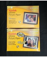 New 40 Sheets Kodak Ultima 4x6 Picture Paper High Gloss Inkjet Printers ... - $7.89