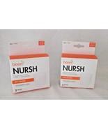 Boon Nursh Nurse Reusable Silicone Pouches 6 Baby 4 ozs Bottle Free Ship... - $19.78