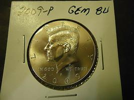 2009-P KENNEDY HALF DOLLAR COIN   ** L@@K **          >> C/S & H  - $2.97