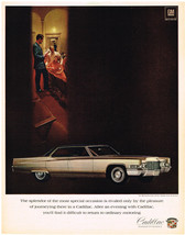 Vintage 1969 Magazine Ad Cadillac Experience The Pleasure Of Driving A C... - $5.93