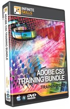 Discounted Adobe CS5 Training Bundle Tutorial DVD - 68 hours - $117.67