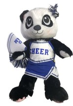 "Build A Bear Cheerleader Panda Bear Plush 16"" With Outfit BABW - $54.44"