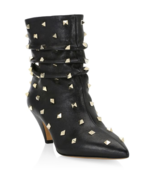 Valentino Garavani Studded Leather Booties 36.5  MSRP: $1375.00 - $890.99