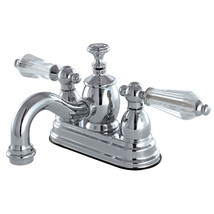 "KS7101WLL 4"" Centerset Lavatory Faucet with Brass Pop-Up, CP - $123.48"
