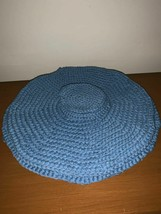 New Crochet Setting For Four Table Placemats With Matching Coasters - $24.75