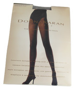 Donna Karan Pantyhose Matte Semi Sheer Control Top Hosiery Steel Plus Pe... - $9.95